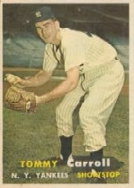 1957 Topps      164     Tommy Carroll