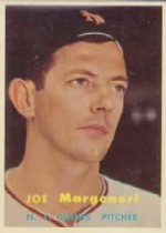 1957 Topps      191     Joe Margoneri RC