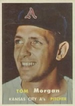 1957 Topps      239     Tom Morgan
