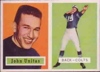 1957 Topps Football Cards