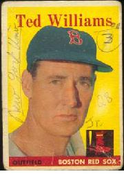 1958 Topps      001       Ted Williams
