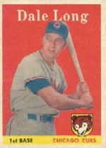 1958 Topps      007       Dale Long
