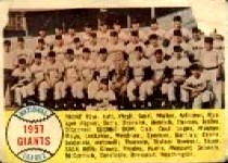 1958 Topps      019      San Francisco Giants TC