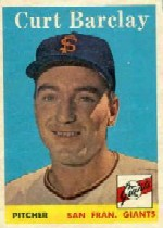 1958 Topps      021      Curt Barclay