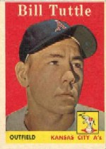 1958 Topps      023A     Bill Tuttle