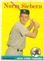 1958 Topps      054      Norm Siebern RC