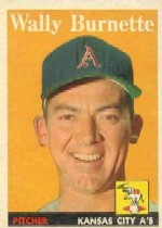 1958 Topps      069      Wally Burnette