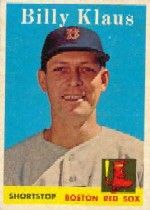 1958 Topps      089      Billy Klaus