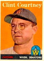 1958 Topps      092A     Clint Courtney