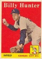 1958 Topps      098A     Billy Hunter