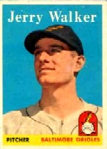 1958 Topps      113     Jerry Walker RC