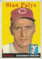 1958 Topps      126     Stan Palys RC