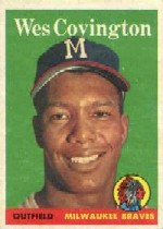 1958 Topps      140     Wes Covington