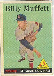1958 Topps      143     Billy Muffett RC
