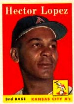 1958 Topps      155     Hector Lopez