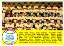 1958 Topps      158     Cleveland Indians TC