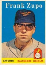 1958 Topps      229     Frank Zupo RC