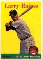 1958 Topps      243     Larry Raines RC