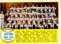 1958 Topps      312     Boston Red Sox TC