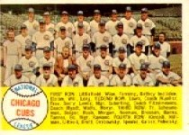 1958 Topps      327     Chicago Cubs TC