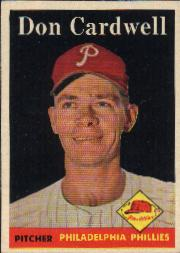 1958 Topps      372     Don Cardwell