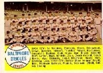 1958 Topps      408A    Baltimore Orioles TC Alpha