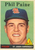 1958 Topps      442     Phil Paine RC