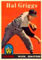 1958 Topps      455     Hal Griggs RC