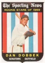 1959 Topps Baseball Cards      124     Dan Dobbek RS RC