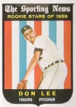 1959 Topps Baseball Cards      132     Don Lee RS