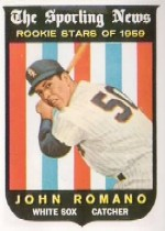 1959 Topps Baseball Cards      138     John Romano RS RC