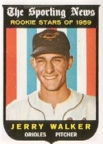 1959 Topps Baseball Cards      144     Jerry Walker RS
