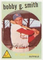 1959 Topps Baseball Cards      162     Bobby G. Smith