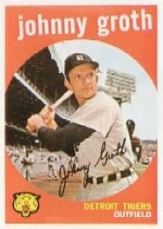 1959 Topps Baseball Cards      164     Johnny Groth