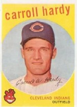 1959 Topps Baseball Cards      168     Carroll Hardy