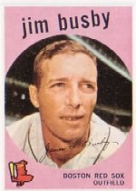 1959 Topps Baseball Cards      185     Jim Busby