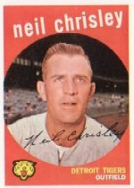 1959 Topps Baseball Cards      189     Neil Chrisley