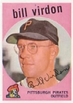1959 Topps Baseball Cards      190     Bill Virdon