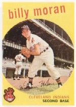 1959 Topps Baseball Cards      196     Billy Moran