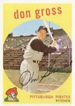 1959 Topps Baseball Cards      228     Don Gross WB