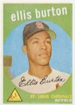 1959 Topps Baseball Cards      231A    Ellis Burton GB