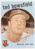 1959 Topps Baseball Cards      236A    Ted Bowsfield GB
