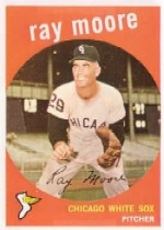 1959 Topps Baseball Cards      293     Ray Moore