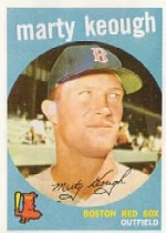 1959 Topps Baseball Cards      303     Marty Keough