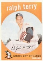 1959 Topps Baseball Cards      358     Ralph Terry