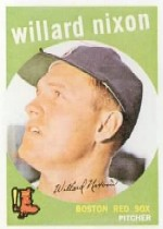 1959 Topps Baseball Cards      361     Willard Nixon