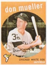 1959 Topps Baseball Cards      368     Don Mueller