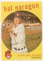 1959 Topps Baseball Cards      376     Hal Naragon