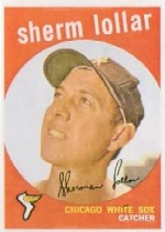1959 Topps Baseball Cards      385     Sherm Lollar