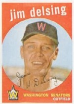 1959 Topps Baseball Cards      386     Jim Delsing
